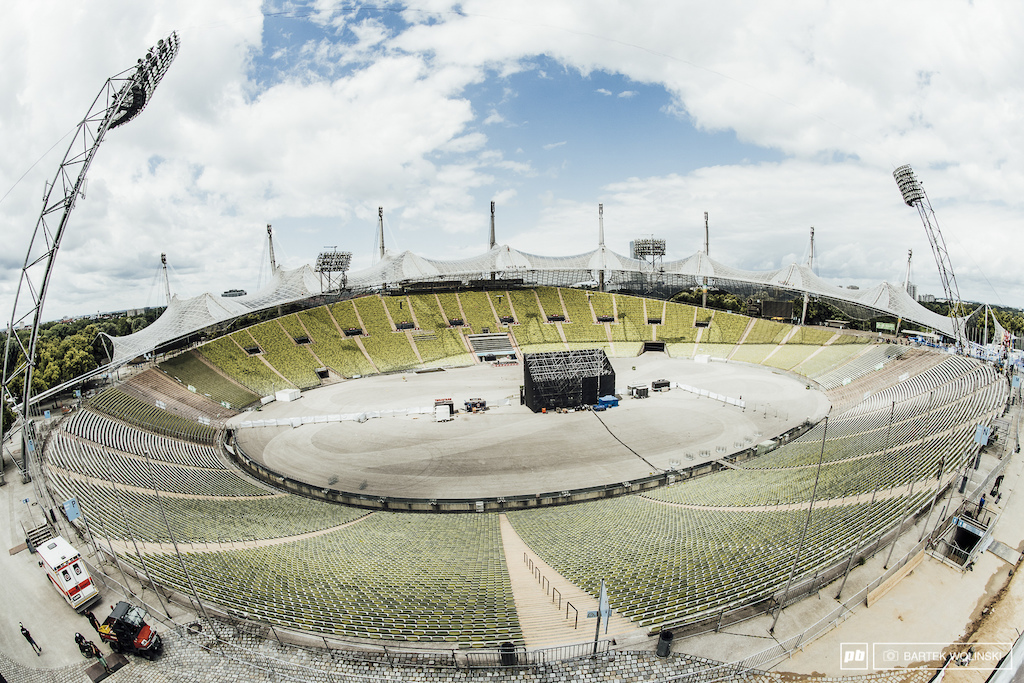 You can visit Olimpiapark Munchen stadium hundreds times and its construction is still making your jaw drop.
