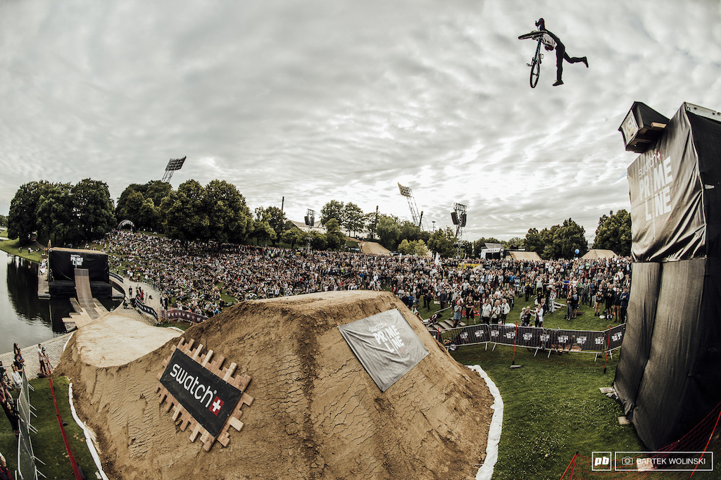 Was it the scariest double tailwhip Nicholi has ever done