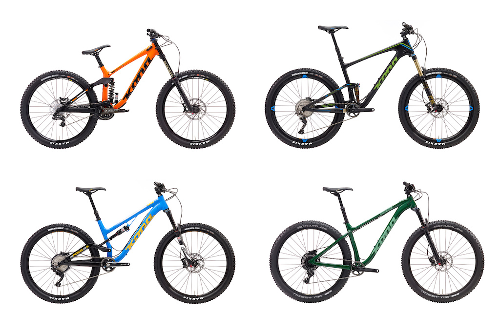 Kona Launches New 2017 Models Pinkbike