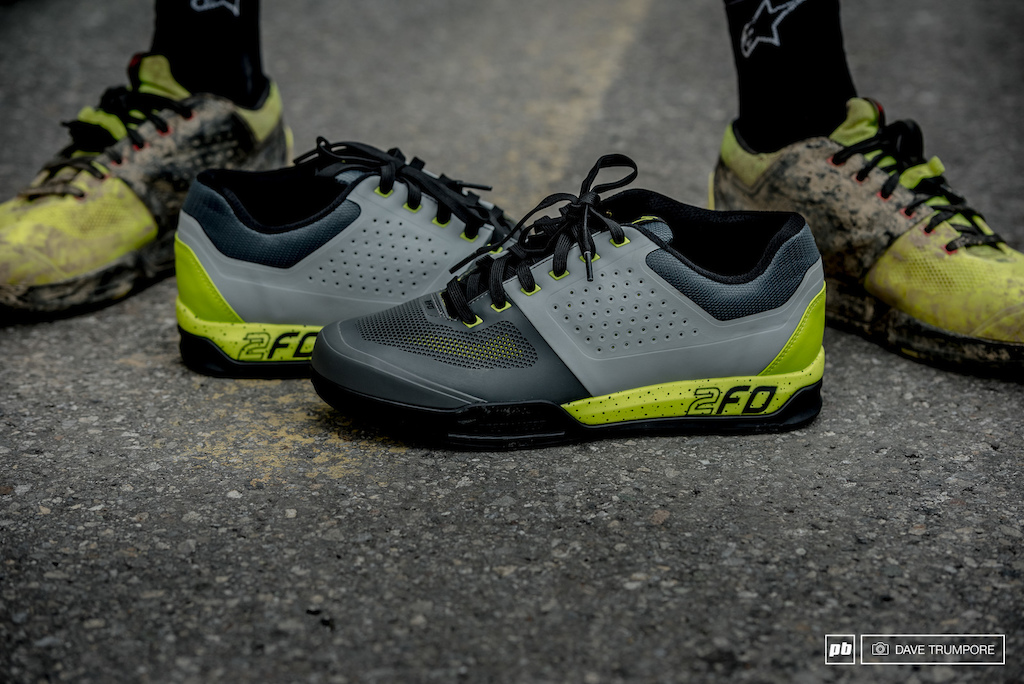 Out with the old and in with the new for Andrew Nettling and his custom 2FO shoes.