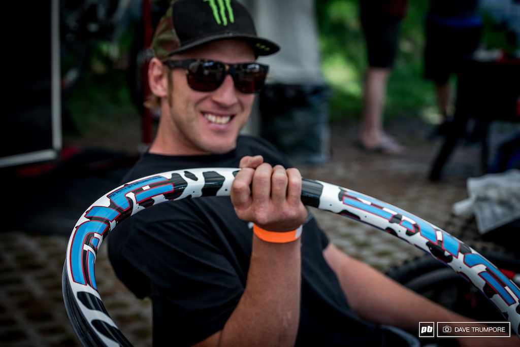 Steve Peat has another custom build this weekend. Can you guess the theme