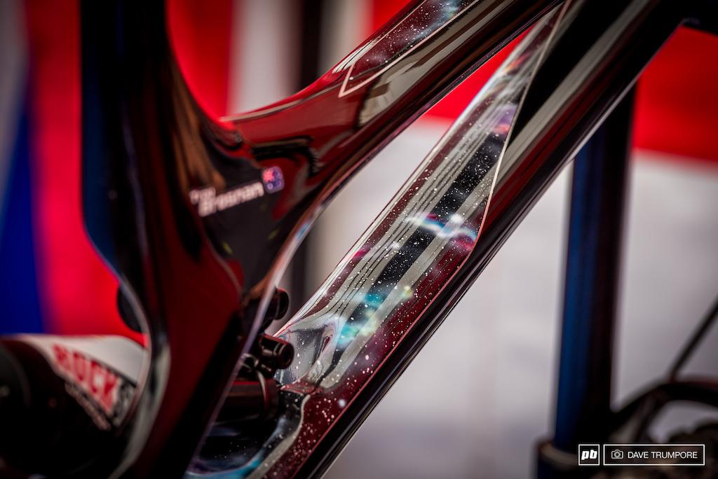Troy Brosnan has another wild custom bike foe the race this weekend.