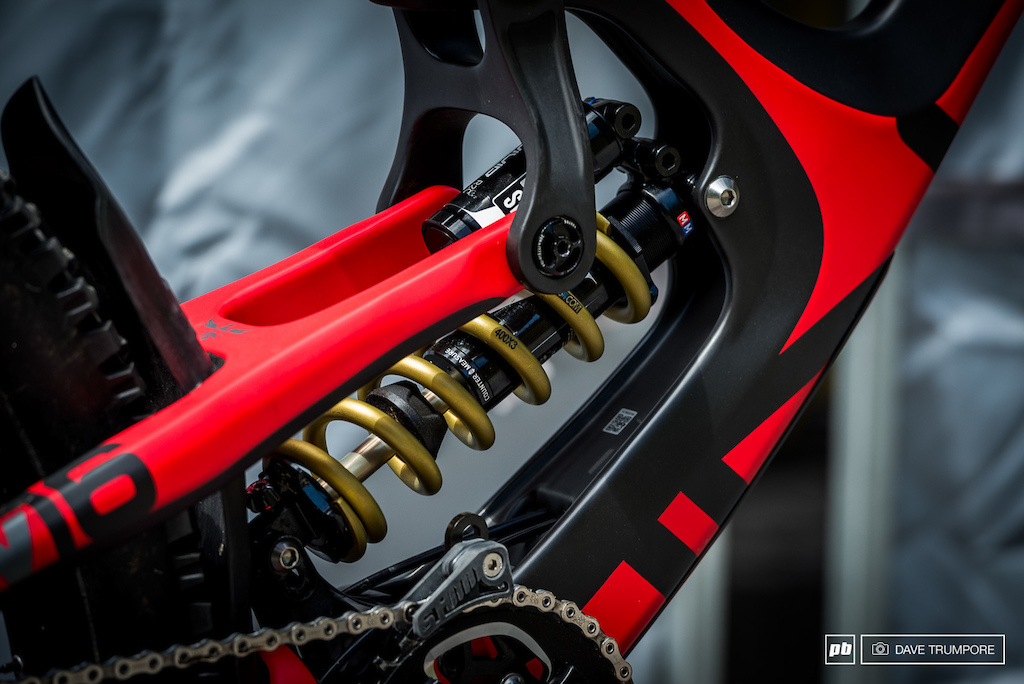 Gold bling Ti-Springs for the Intense boys.