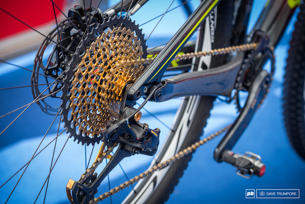 SRAM Eagle is everywhere and a favorite amongst the XC crowd.