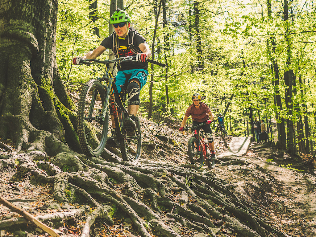 Primal 27.5+ and Primal 27.5 on the Enduro trails in Bielsko-Biała.