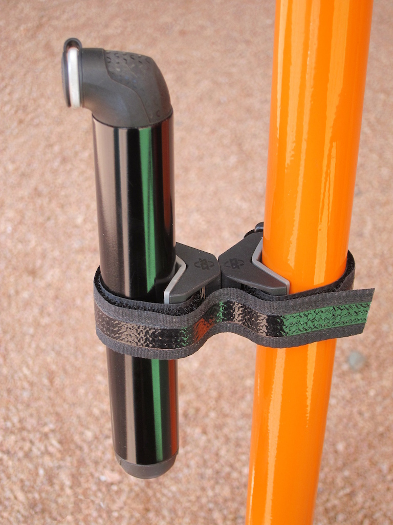 SKS Anywhere Top Cage Mounts screwed together can hold just about anything to a bike frame