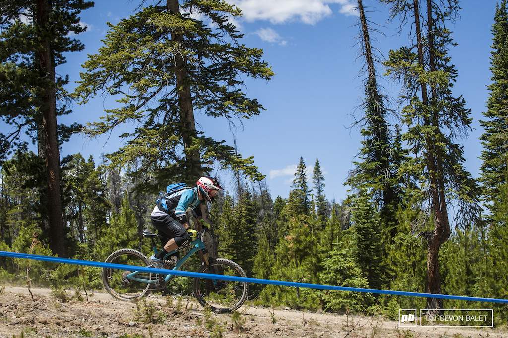 Dee Tidwell runs Enduro MTB Training and proves his worth with finishing second in Master s Men 40 .