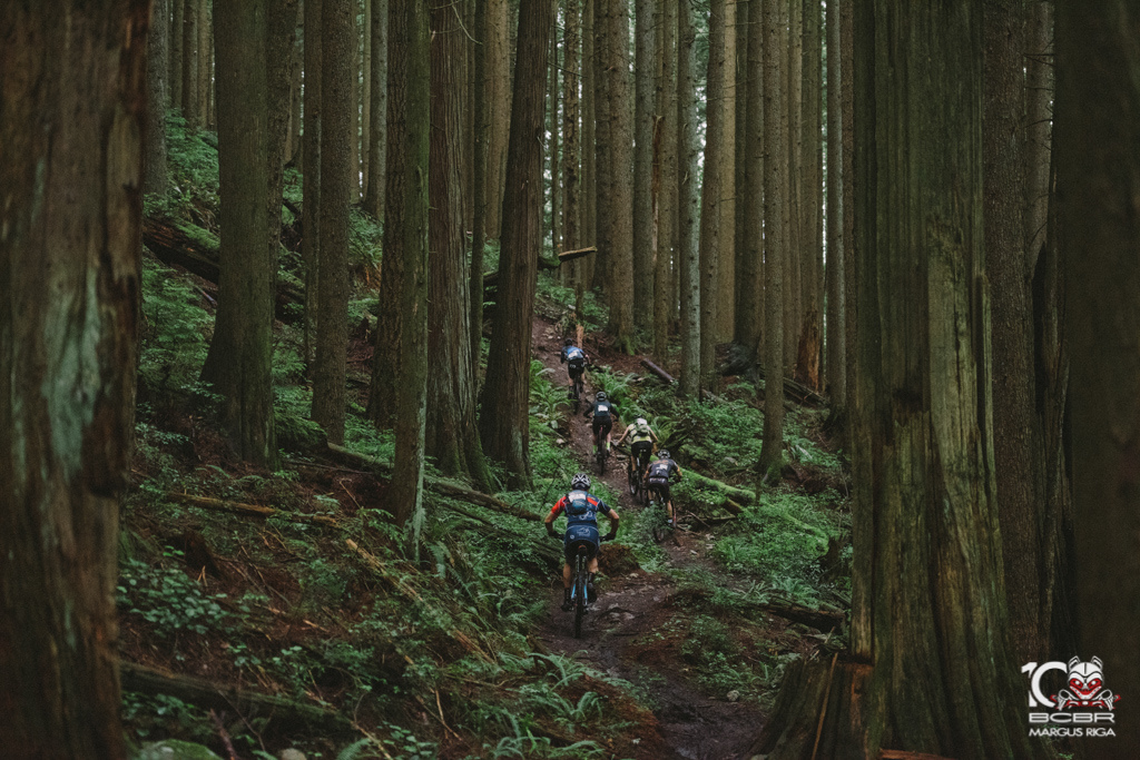 The course was short but riders didn t leave the woods unfulfilled.