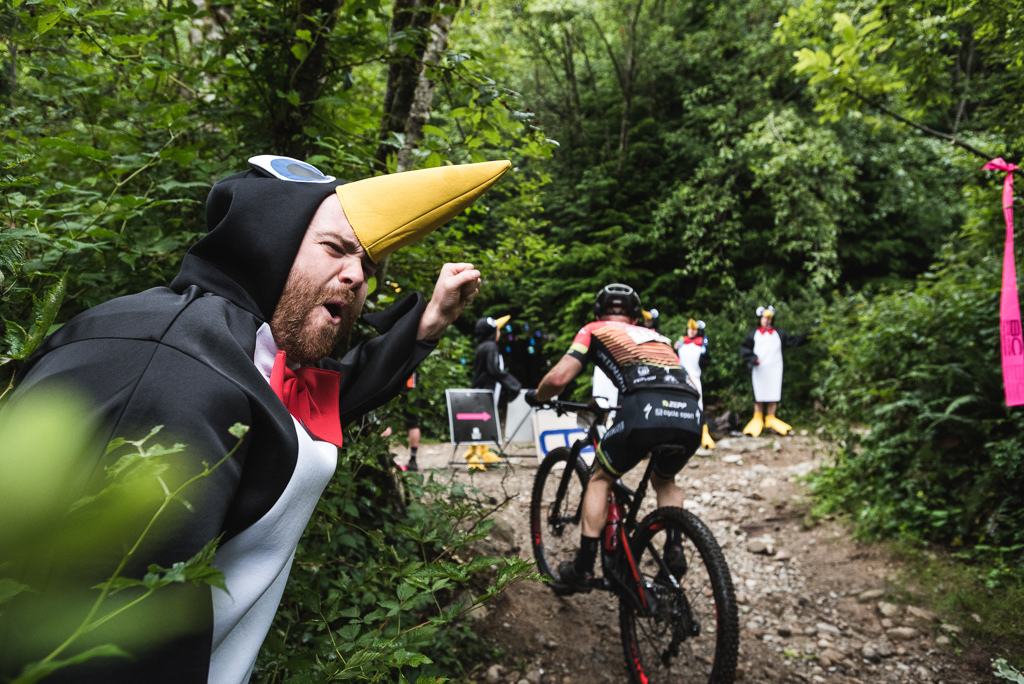 Your daily dose of bearded dudes dressed as penguins has no recommended limit.
