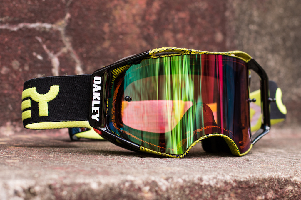Oakley Airbrake PRIZM goggles - Checkout July 2016. Photo: Olly Forster.