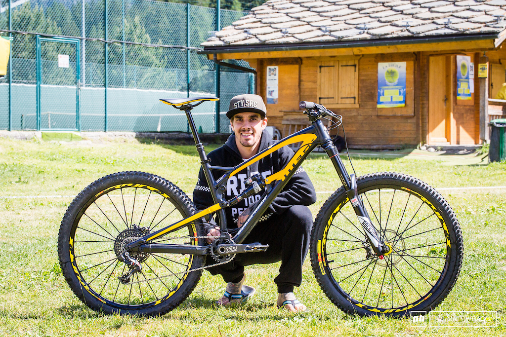 Sam Hill s Nukeproof EWS 4 2016 La Thuile Italy. Photo by Matt Wragg.