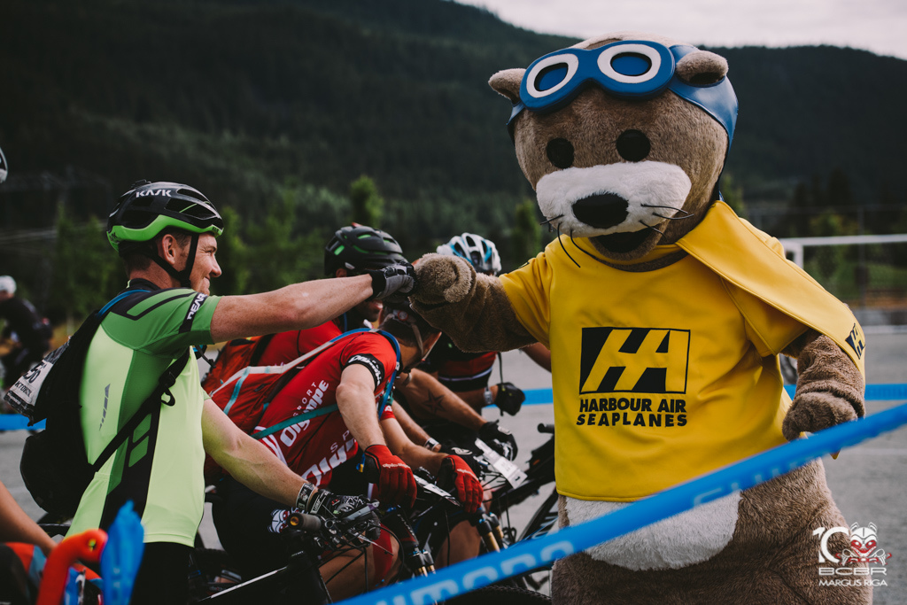 Harbour Air has been with the BC Bike Race for all ten of it s years.
