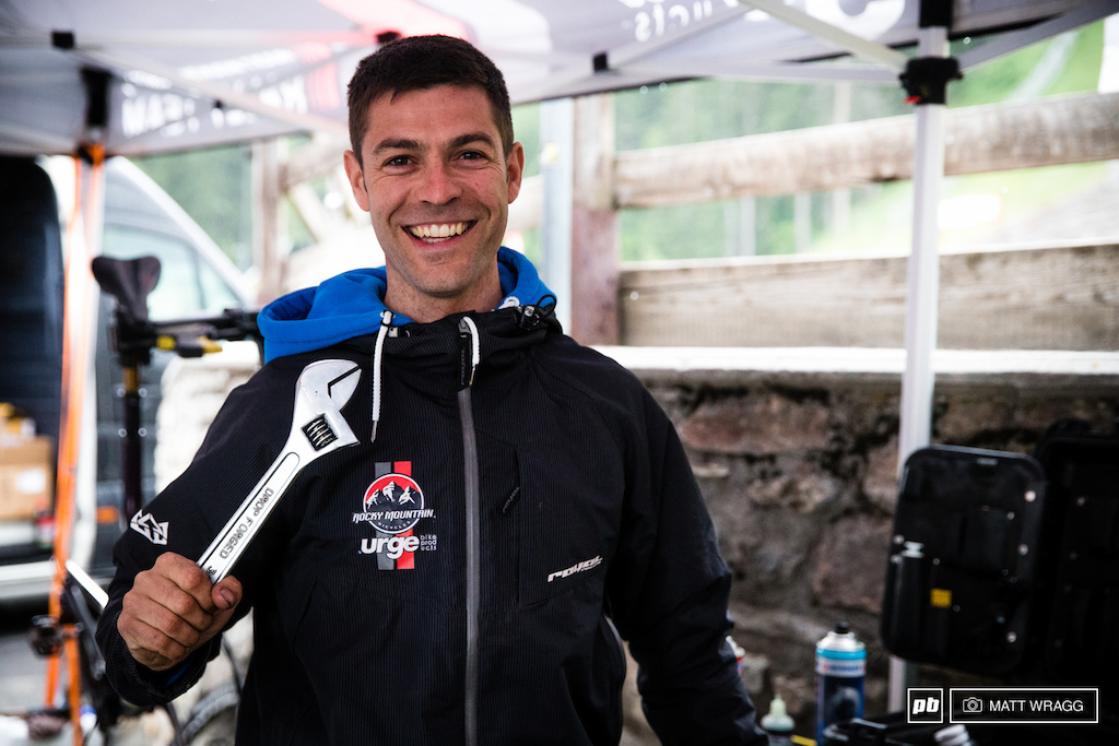 Rocky Mountain mechanic Mattheiu Faury felt left out that he wasn t around to be included in yesterday s favourite tool piece so we ll include him right here. His favourite tool is the adjustable wrench aside from being a great tool it also serves as a passable weapon for when necessary.