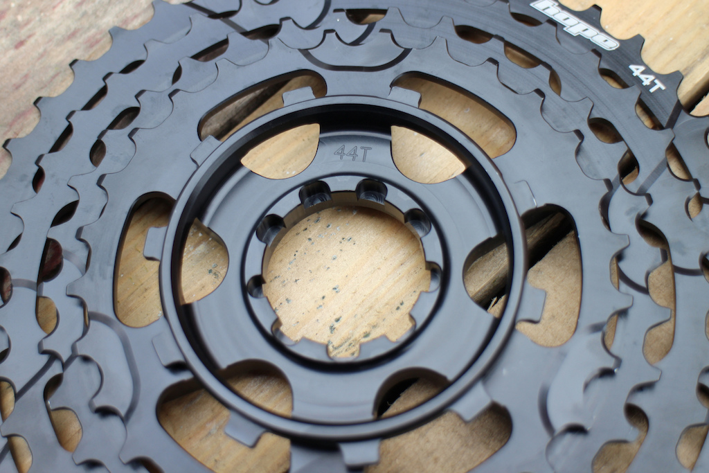 Hope Tech 11-speed cassette review. Photo Olly Forster