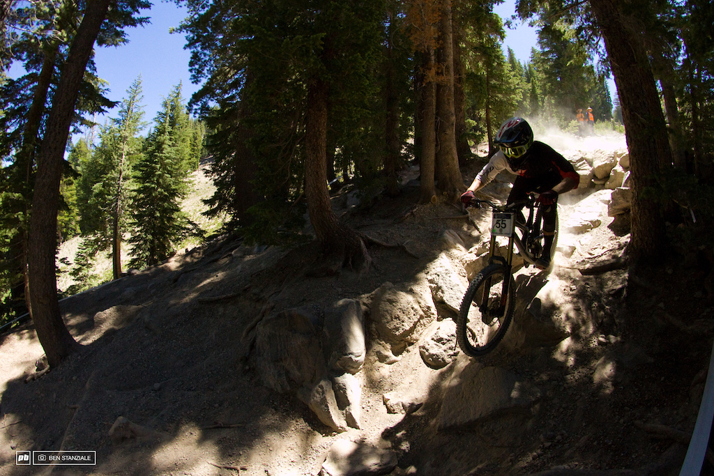 Shane Leslie makes the trip to Mammoth, blasts the rocks, and leaves a happy guy. 3rd Place for Shane Leslie