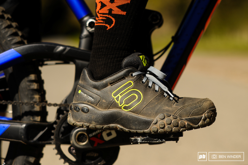 Five Ten Sam Hill 3 shoes Review. Photo Ben Winder