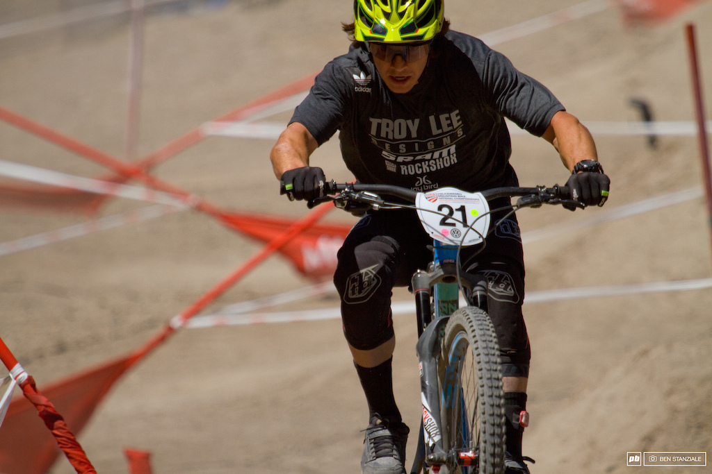 Another day of successful racing for Mitch Ropelato. Mitch took an impressive second place in Saturday's Pro DH, and takes the W in the Enduro with a 32:06.5.