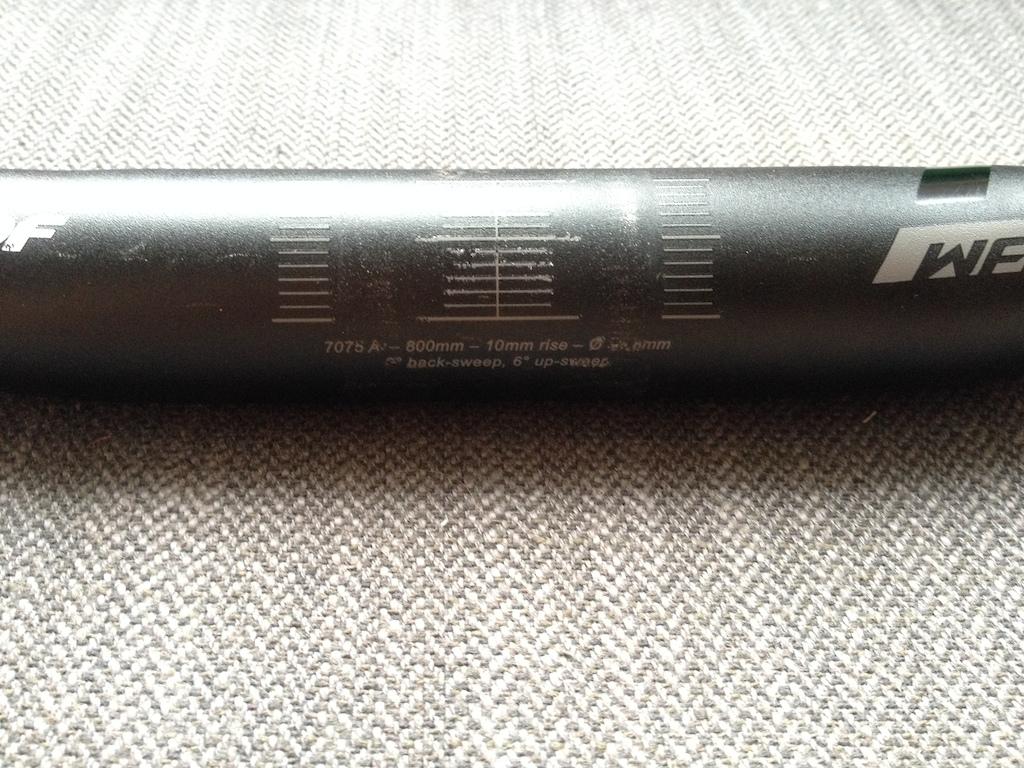 0 Nukeproof Warhead 800mm riser bar