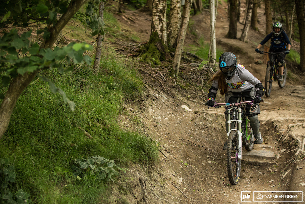 Having recently held the British National Championships Revolution Bike Park provided the perfect facility for a day of progression and learning.