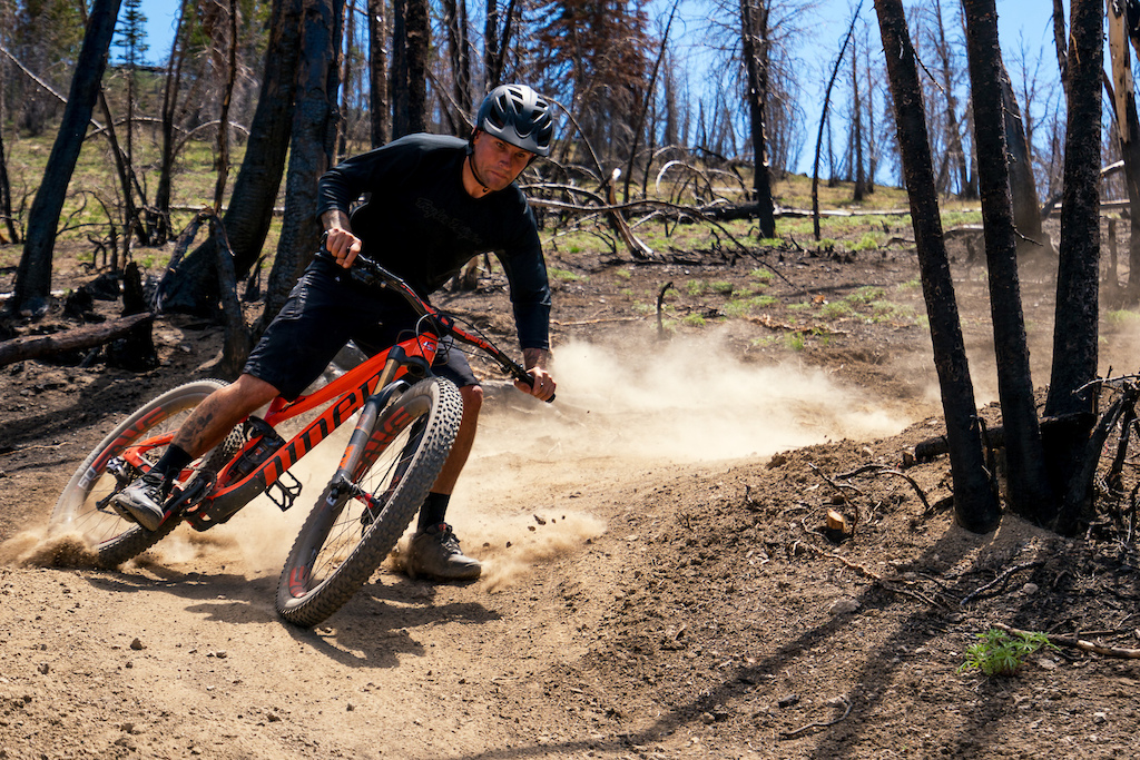 Nate Adams rides the new RIP 9 RDO in Idaho