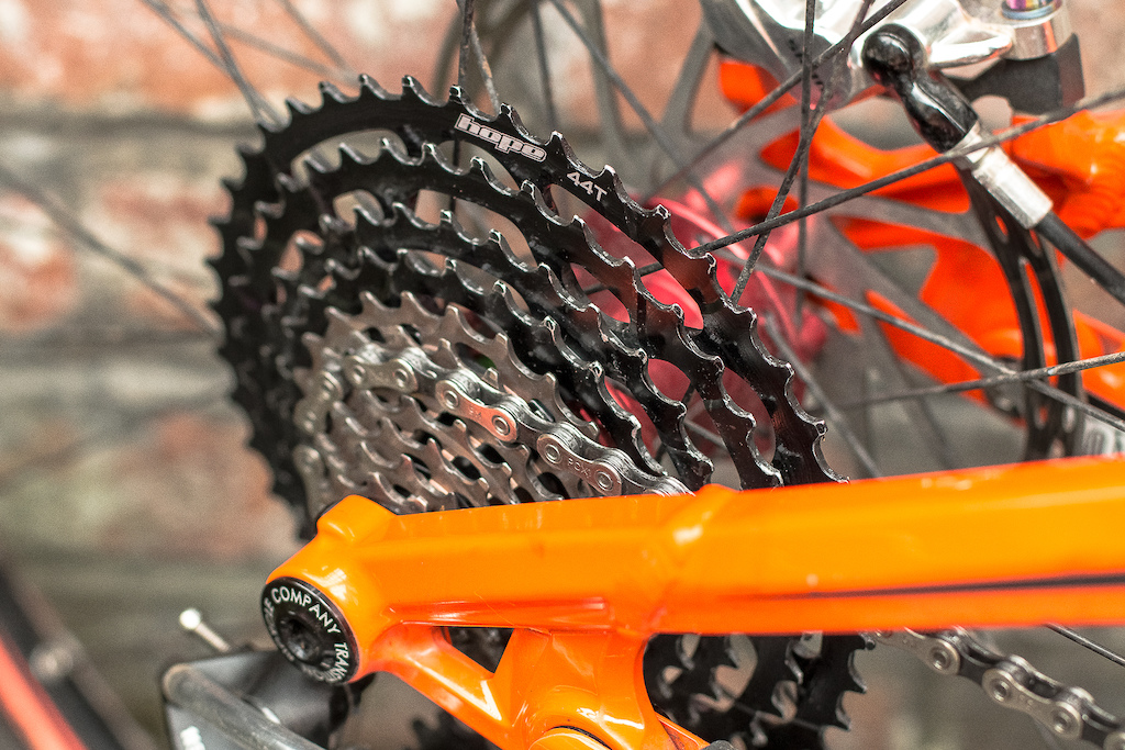 Hope Tech 11-Speed Cassette Review Photo Olly Forster