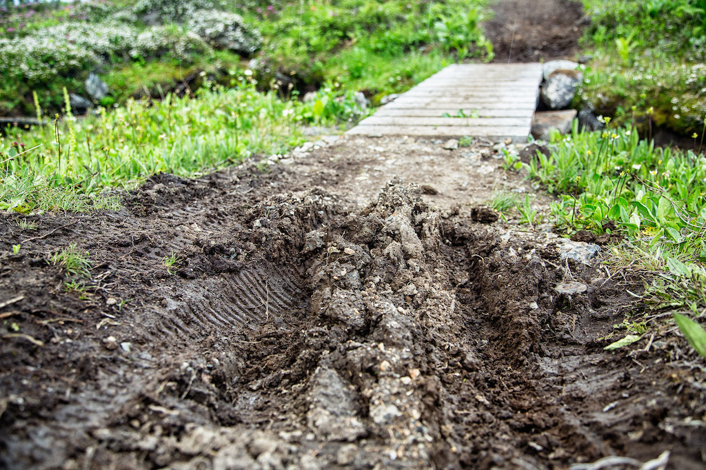 Trail damage