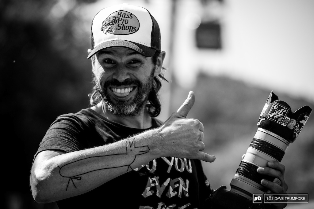 Mad Dog Boris might just the best Sam Hill souvenir of them all. He asked Sam to draw him a tattoo after Lenzerheide and now has the result etched into his right arm for life.