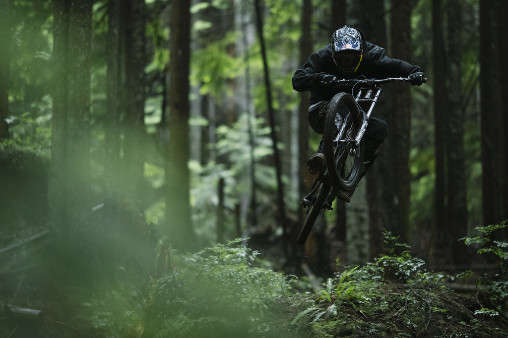 Brandon Semenuk and Rupert Walker on the Sunshine Coast British Columbia
