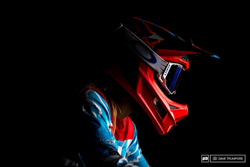 Tahnee Seagrave is sitting sitting 2nd in the overall and so far this season has been the only riders who look up to the challenge of beating Rachel Atherton.