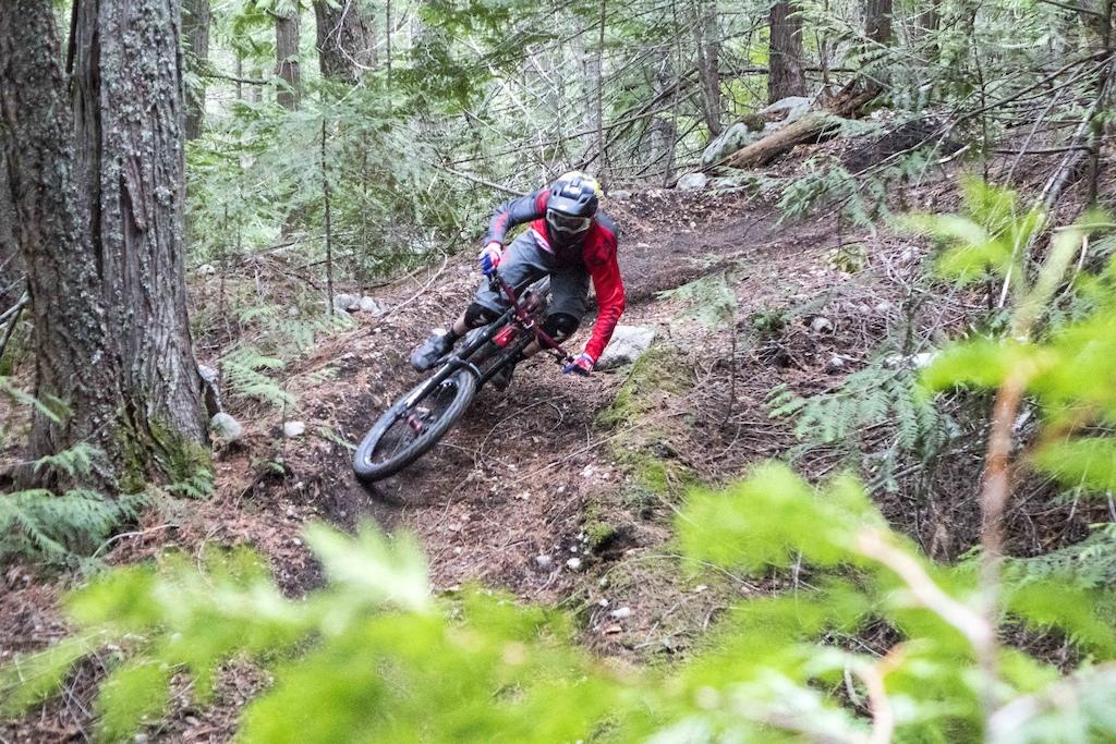 Kurt railing one of the many corners on sitkum