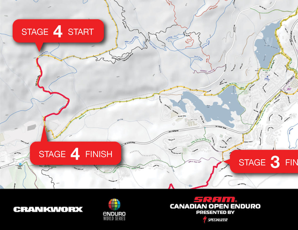 SRAM Canadian Open Enduro presented by Specialized - Course Release