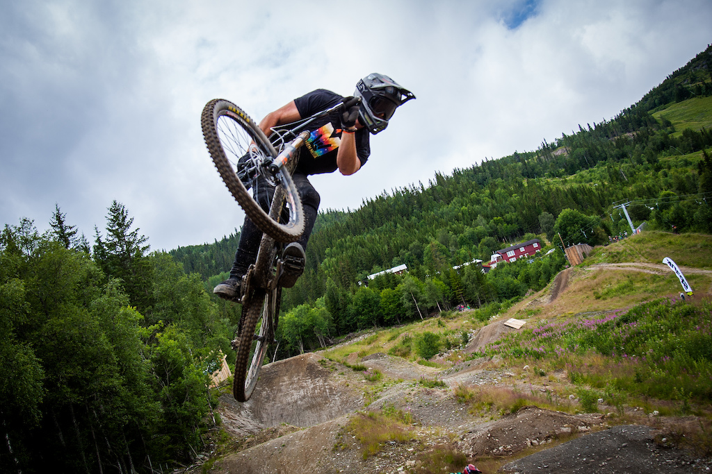 Gregers Pedersen is one of the best dirt jumpers in Denmark and has some sick style