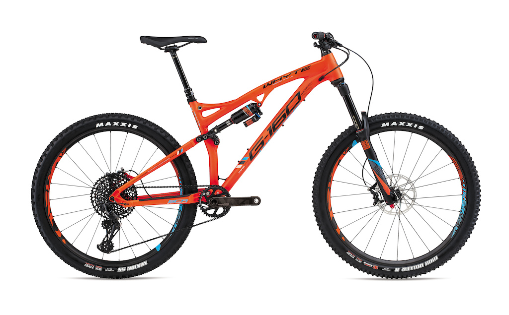 2017 Whyte Bikes USA Lineup images - G-160
