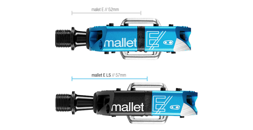 Q-Factor comparison: Mallet E vs. Mallet E LS