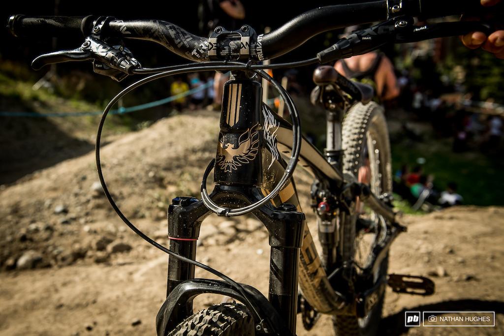 R-dog s ride Whistler Crankworx 2016