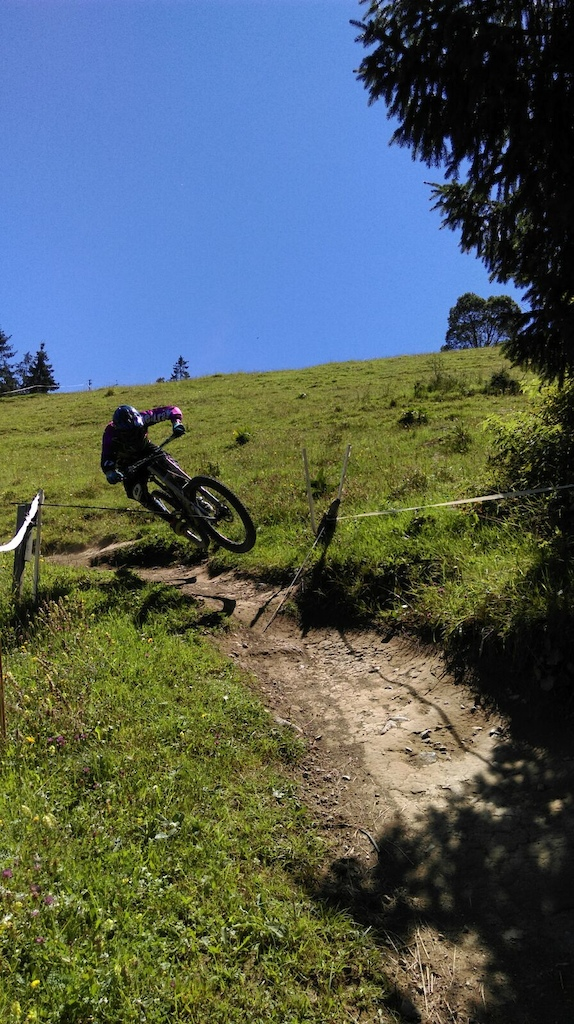 riding the dead rabbit splendid it`s super fun! Fly down my hometrack.