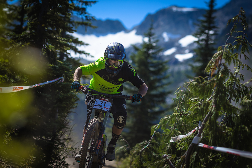 Matt Walker during the Garbonzo DH Race at Crankwork Whistler 2016. Photo by Clint Trahan