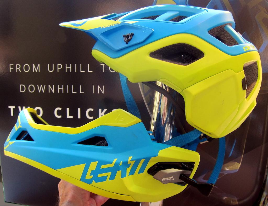 Leatt Convertible Full Face Helmet Crankworx Whistler