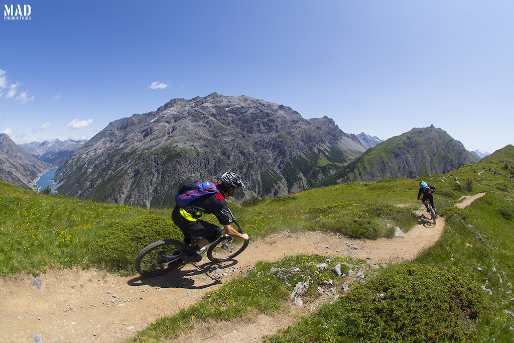 Around the world with the MADproductions family. Throwback to the good times with Monkeymtb riding Livigno sexy singletracks !
