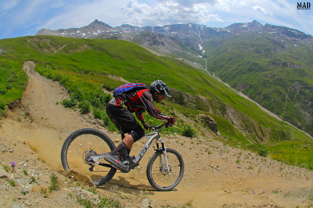 """""""Remember that time we went to Livigno with Monkeymtb ?!"""" - how can I forget bro ? MADproductions rider, Rui Sousa, riding Carosello 3000 Ski Area Livigno super fun singletrack !"""
