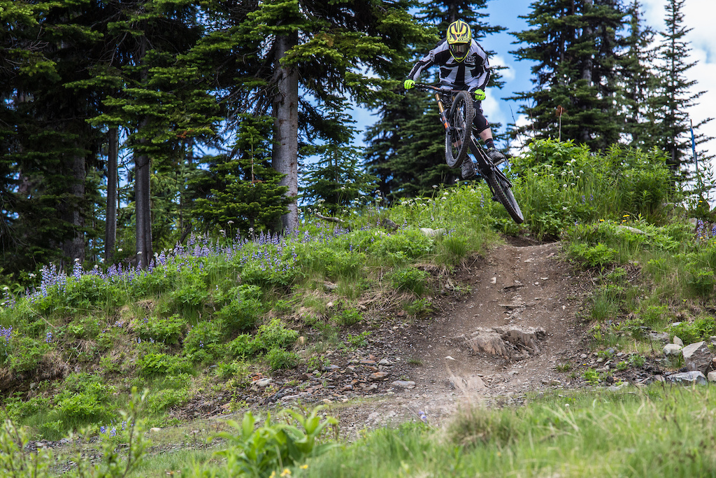 Photos for Lone Wolf Production s 2016 Matt Beer video release from the Sun Peaks Bike Park.