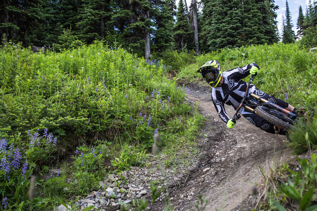 Photos for Lone Wolf Production s 2016 Matt Beer video from the Sun Peaks Bike Park.