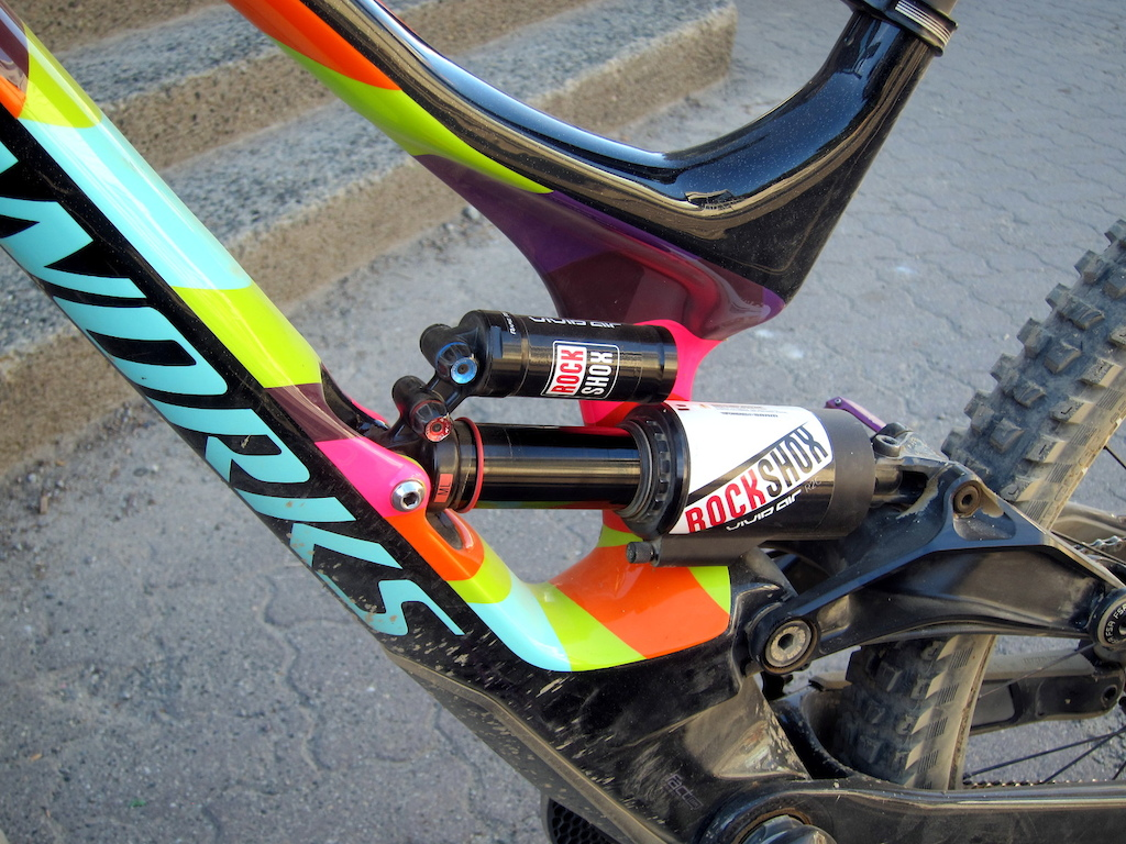 6730f0c2743 Troy Brosnan and his custom painted Whistler Crankworx edition Specialized  Demo 8