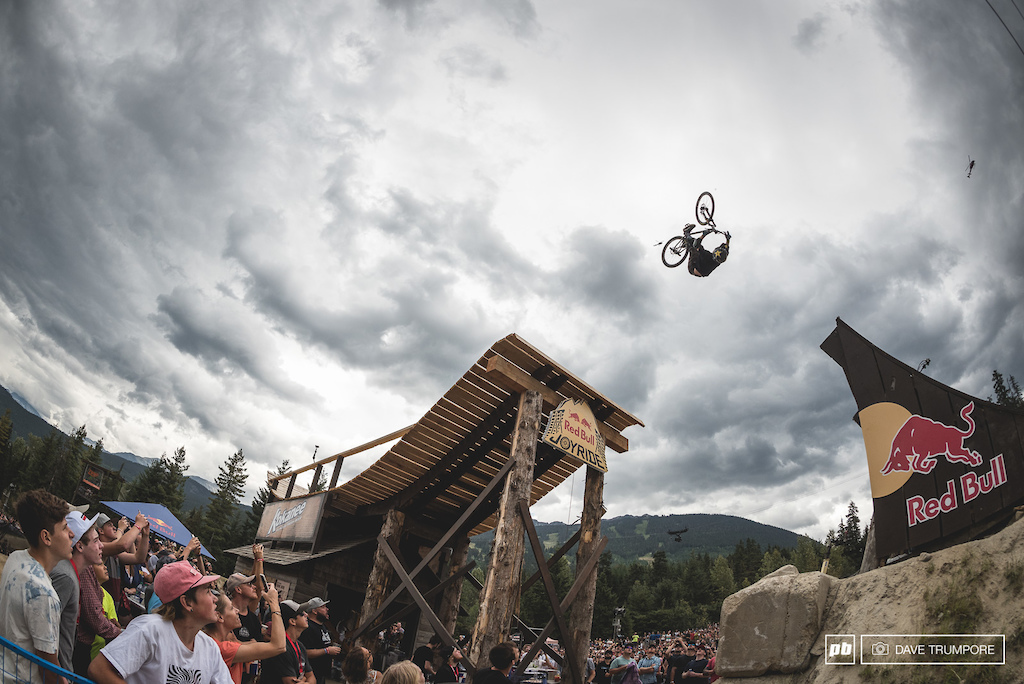 Retired BMX legend Ryan Nyquist has finally got the opportunity to thrown down at Red Bull Joyride piecing together a very impressive run to take 9th. Thirty seven years young and still one of the greatest freeriders in the world.