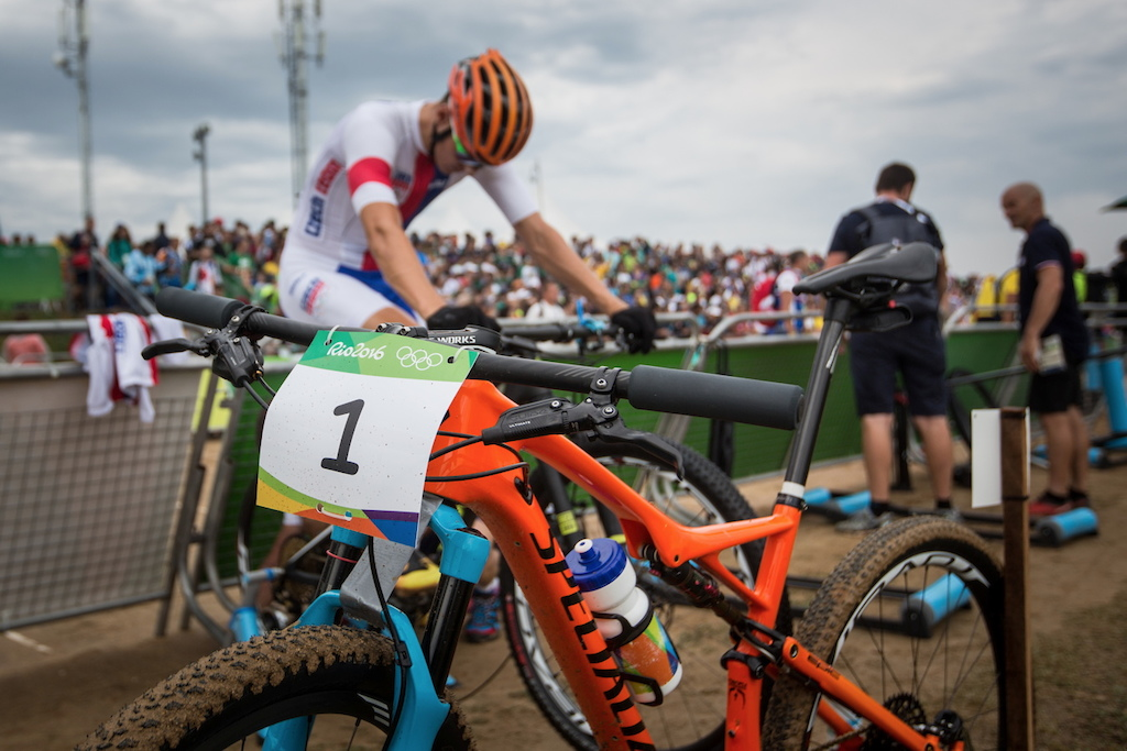 As you can the orange color on the Torch Collection bike of Jaroslav Kulhavy the sun wasn t on the sky. But also the rain didn t come even it was in prediction.