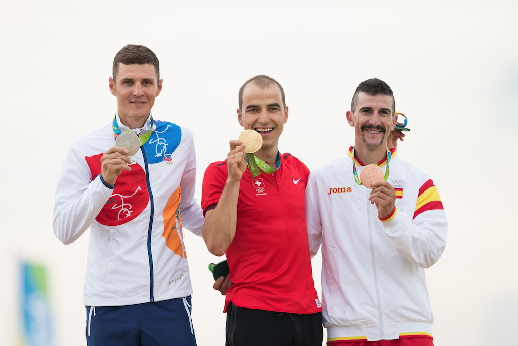 2016 Rio Olympic XC Men s podium.