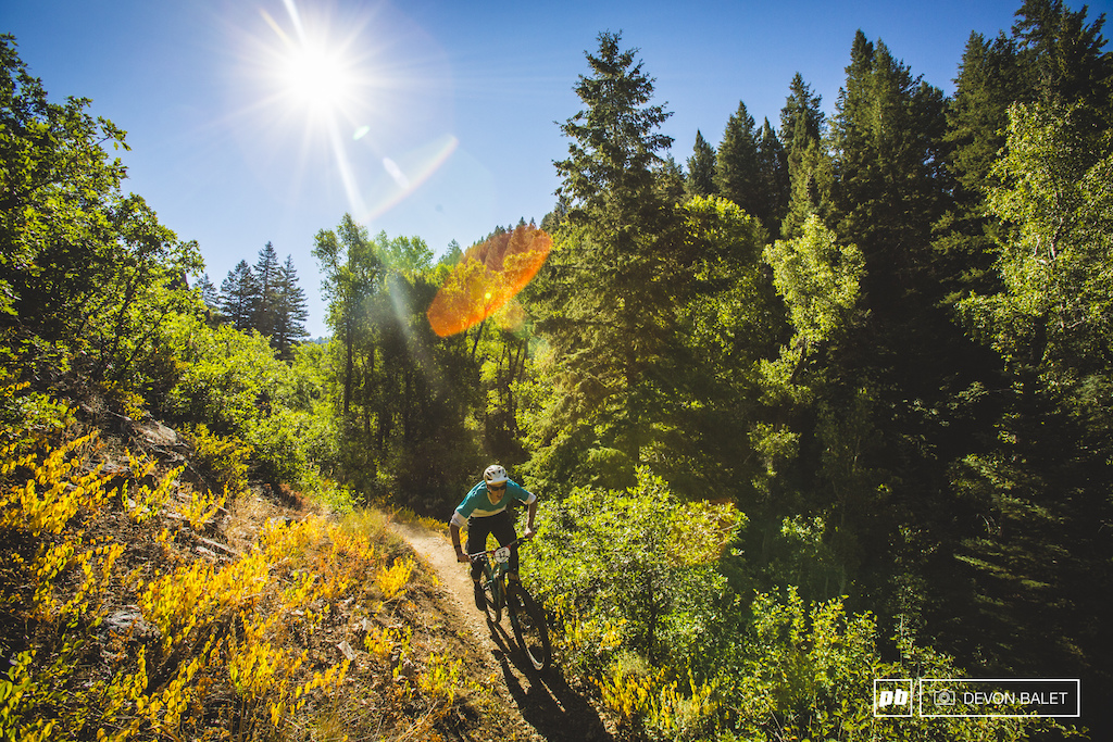Fall is not far away as the trails of stage two showed.