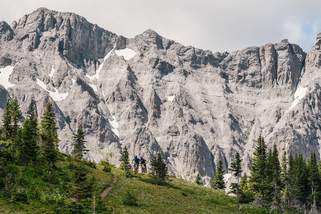 Return to the Rockies with Thomas Vanderham and Florian Nicolai   Photo by Paris Gore