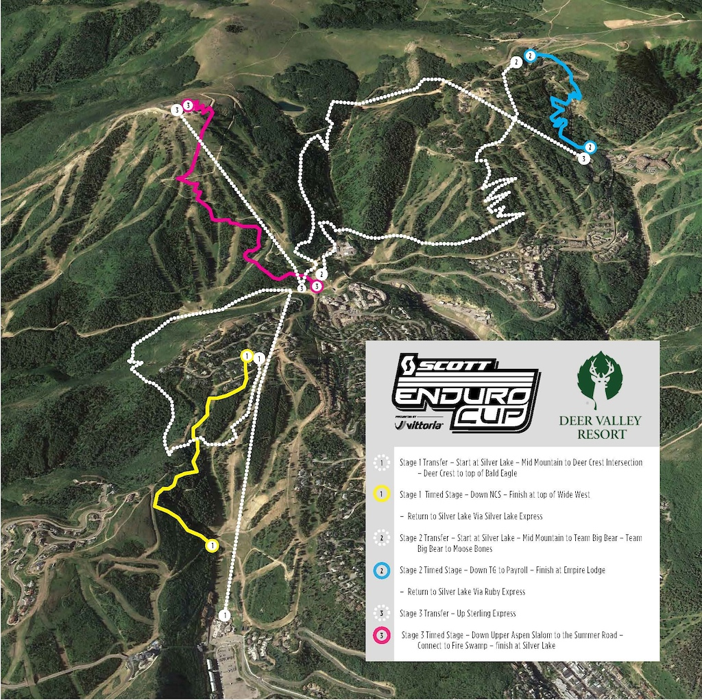Course Released for SCOTT Enduro Cup at Deer Valley, Utah