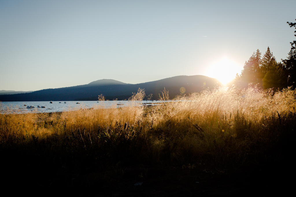 Sunset Thursday as we arrived in Tahoe really set the stage for what would turn out to be a great start to the event.